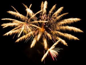 Hochzeit Berlin Feuerwerk